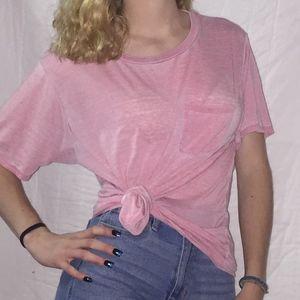 """Light Pink """"Boyfriend"""" T-shirt"""